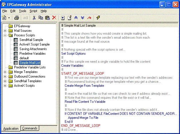 Screenshot of EP-Gateway 2.0